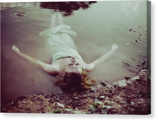 Desolation Canvas Print - Feeling Purity by Ulya Sovina