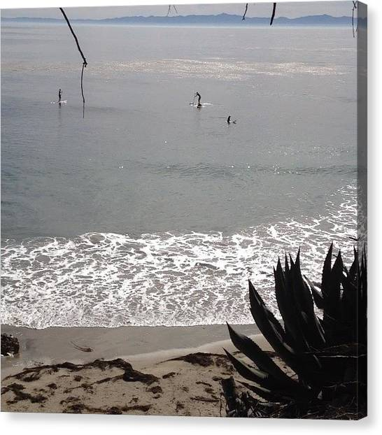 Ucsb Canvas Print - Feeling Stressed? Take A Break And by Mckenzie Kane