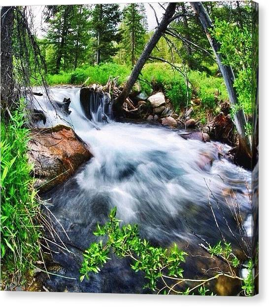Idaho Canvas Print - Feeling That #flow #exploring #wild by Cody Haskell