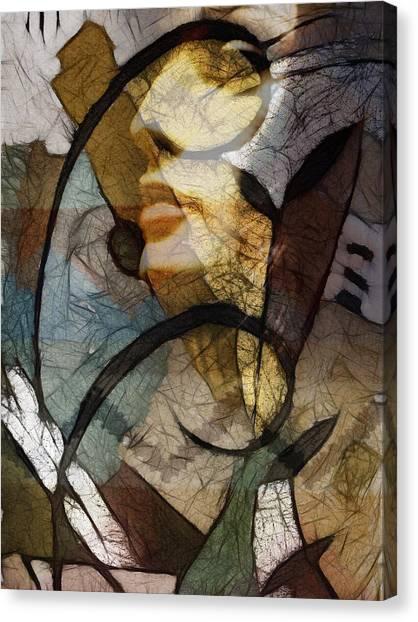 Feelings Canvas Print by Ann Croon