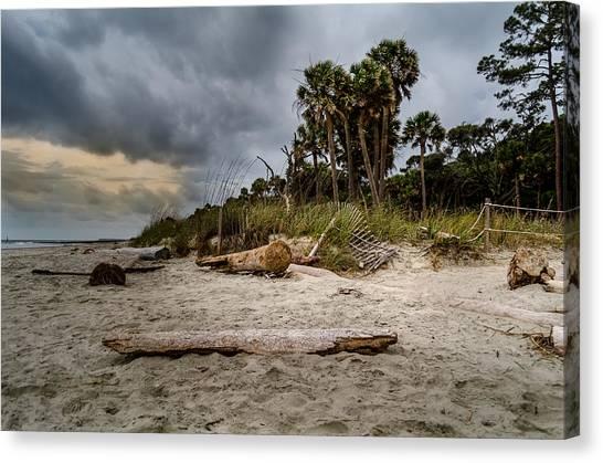 Feels Like Storm Canvas Print by Richard Kook