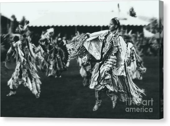 Female Fancy Dancer Canvas Print by Scarlett Images Photography