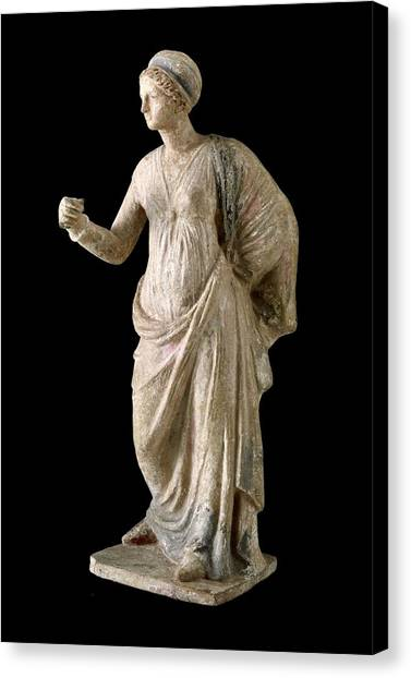 Hellenistic Art Canvas Print - Female Figure. 3rd-2nd C. Bc by Everett