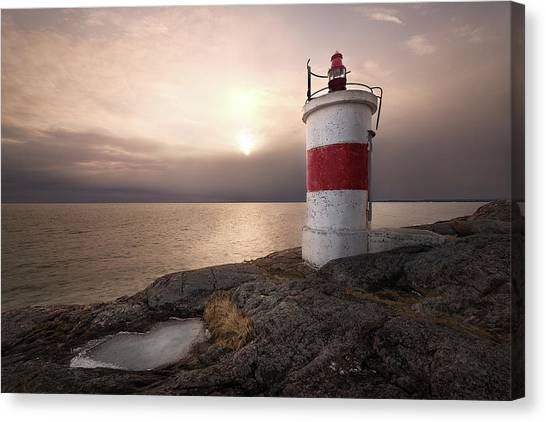 Maritime Canvas Print - Fema??re by Christian Lindsten