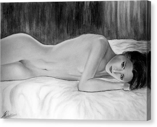 Feminine Vi Canvas Print by Suvam Majumder