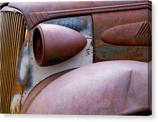 Fender Bender Canvas Print
