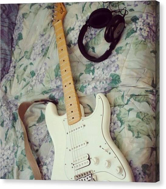 Stratocasters Canvas Print - #fender  #stratocaster  #strato by Philopater Di carlo