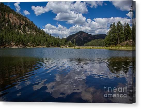 Fenton Lake Reflections Canvas Print by Jim McCain