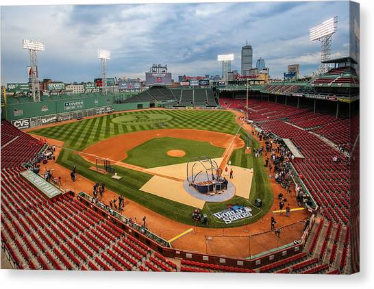 Fenway Before The Storm Canvas Print