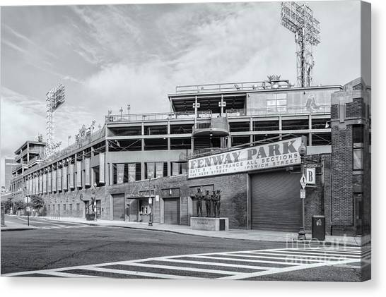 Fenway Park Canvas Print - Fenway Park Iv by Clarence Holmes