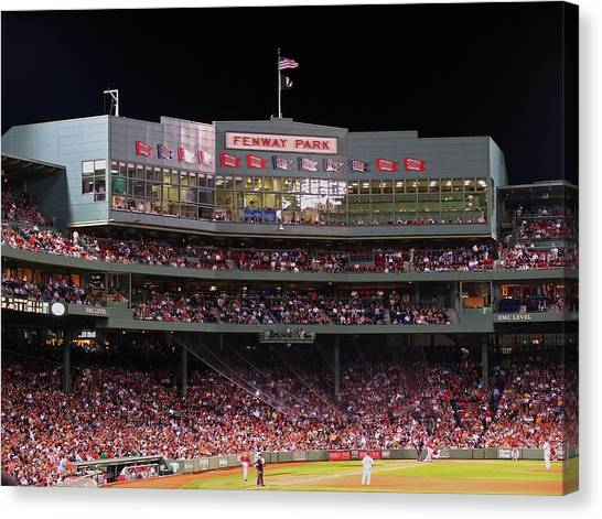Boston Canvas Print - Fenway Park by Juergen Roth