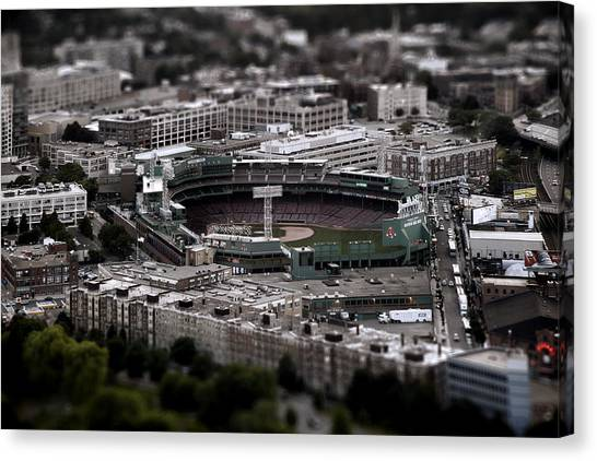 Fenway Canvas Print - Fenway Park by Tim Perry