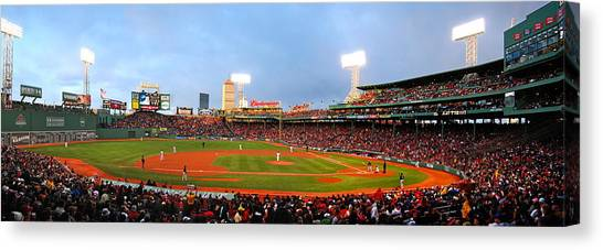 Fenway Park Canvas Print - Fenway by Stephen Bellingham