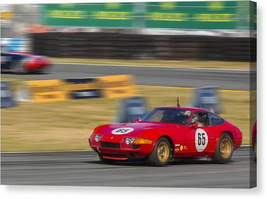 Ferrari 365 Gtb Daytona Canvas Print