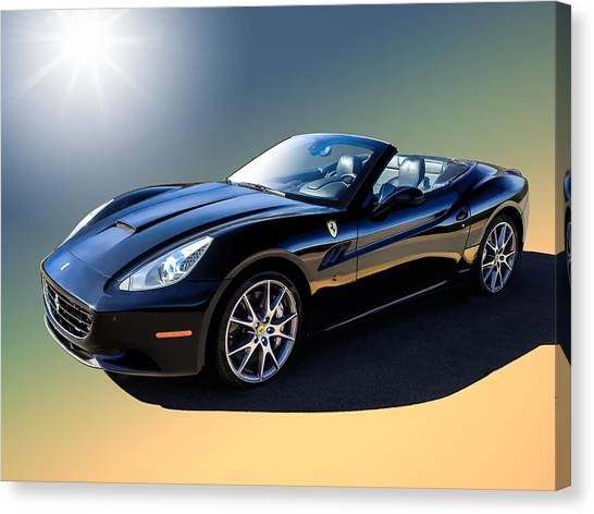 Ferrari Canvas Print - Ferrari California by Douglas Pittman