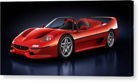 Ferrari F50 - Phantasm Canvas Print