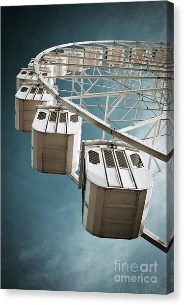 Wheels Canvas Print - Ferris Wheel by Carlos Caetano