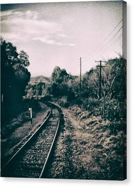 Ferrocarril Canvas Print