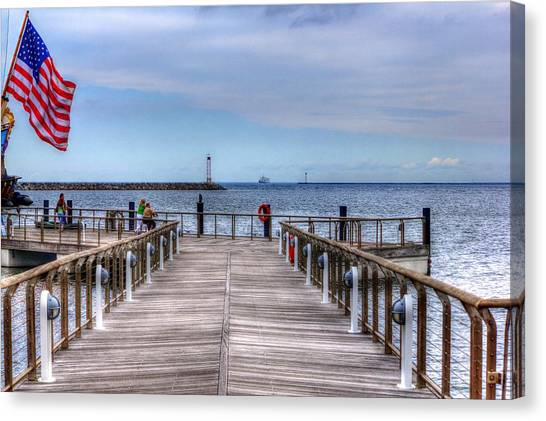 Ferry I See You Canvas Print
