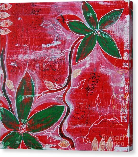Festive Garden 1 Canvas Print