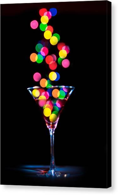 Festive Martini Canvas Print