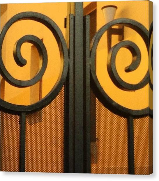 Fibonacci Canvas Print - #fibonacci #golden #goldenmean #spirals by Heidi Lyons