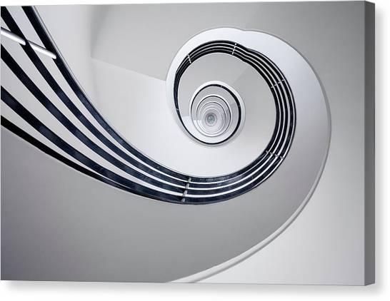 Fibonacci Canvas Print - Fibonacci by Max Zimmermann