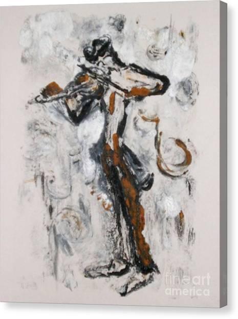 Fiddle Dee Dee Canvas Print