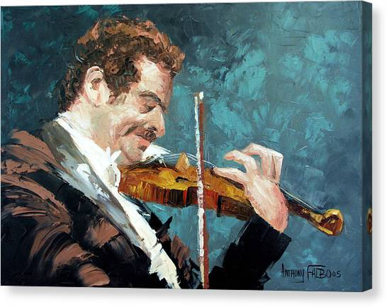 Fiddling Canvas Print - Fiddling Around by Anthony Falbo