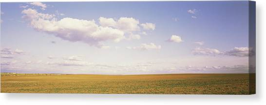 Monticello Canvas Print - Field, Utah, Usa by Panoramic Images