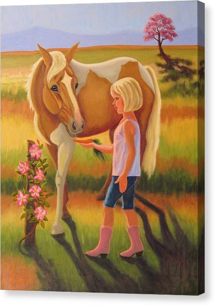 Fields Of Blessing Canvas Print