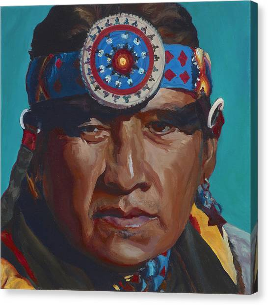 Fierce Eagle Canvas Print
