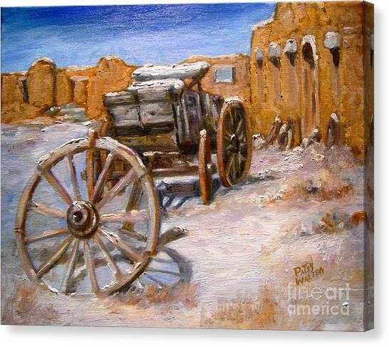 Fifth Wheel Canvas Print
