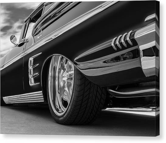 Fifty Eight Impala Canvas Print