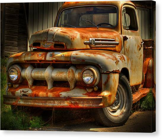 Fifty Two Ford Canvas Print