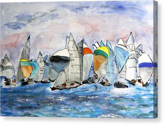 Figawi Dash Canvas Print