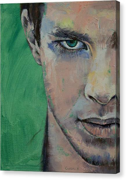 Street Fighter Canvas Print - Fighter by Michael Creese