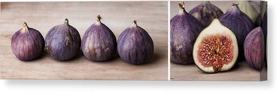 Cook Canvas Print - Figs by Nailia Schwarz