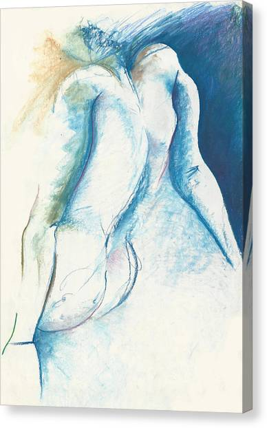 Figurative Abstract Canvas Print