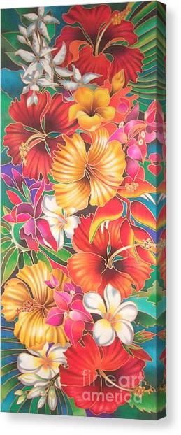 Fiji Flowers IIi Canvas Print