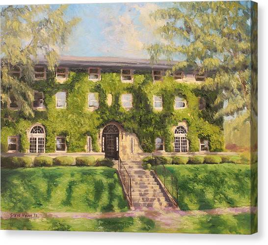 Fiji Canvas Print - Fiji Fraternity House Purdue by Steve Haigh