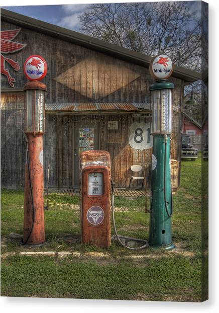 Fill 'er Up Canvas Print