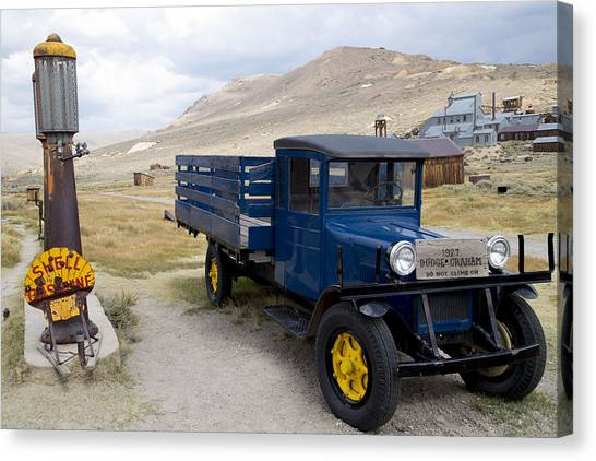 Fill 'er Up In Bodie Canvas Print