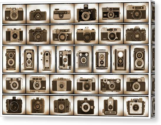 Film Camera Proofs Canvas Print