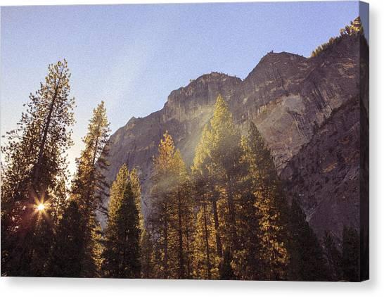Morning Skies Of Yosemite Canvas Print