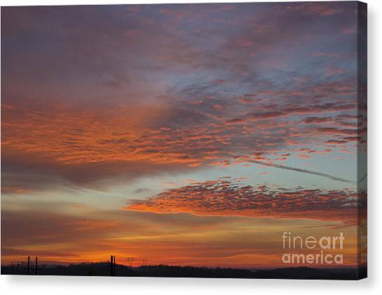 Final 2012 Sunrise Canvas Print