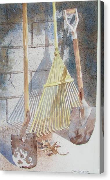 Final Curtain Canvas Print