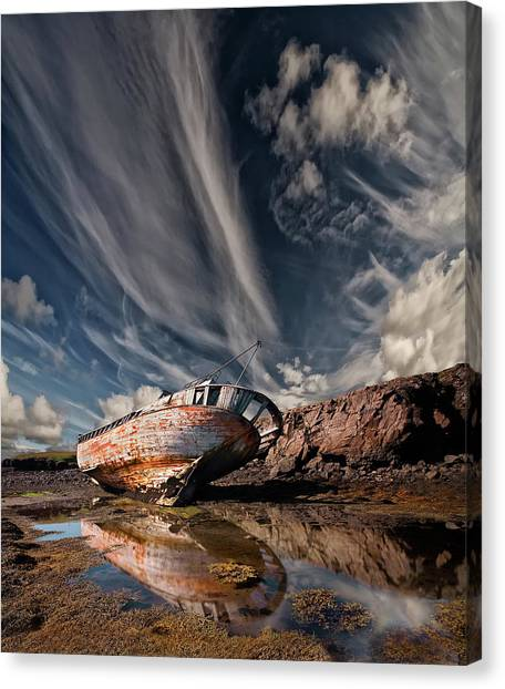 Ships Canvas Print - Final Place by ?orsteinn H. Ingibergsson
