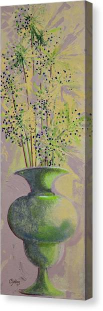 Finale Canvas Print by Candy Zohbon