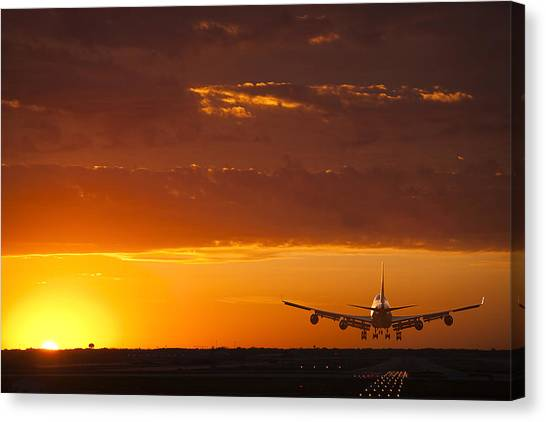 Business-travel Canvas Print - Finally Home by Andrew Soundarajan